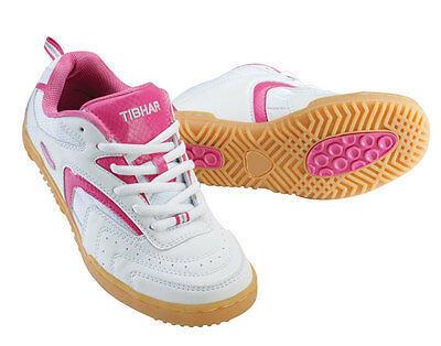 TIBHAR LADY PROGRESS TABLE TENNIS SHOES - small size clearance!!