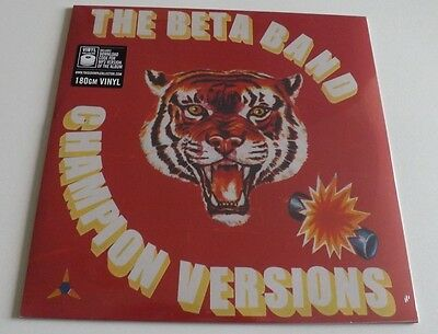 "The Beta Band Champion Versions Vinyl 12"" 180Gm Sealed"