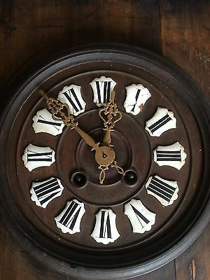 French Rustic Wall Clock