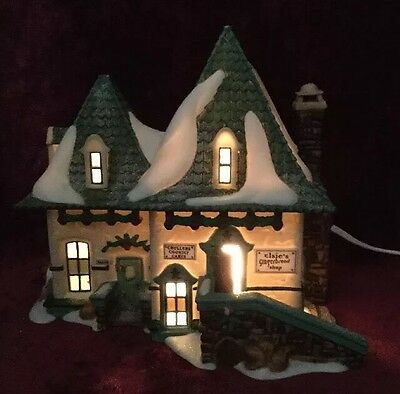 """Dept 56 North Pole Series- """"elsie's Gingerbread"""". Excellent Used Condition."""