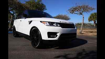 2015 Land Rover Range Rover Sport Supercharged Sport Utility 4-Door 2015 LAND ROVER RANGE ROVER SPORT SUPERCHARGED WITH EVERY SINGE ACCESSORIES MINT