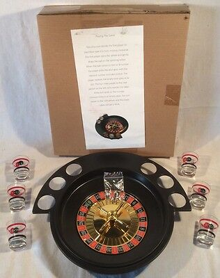 Adult Roulette Drinking Shot Glass Party Game