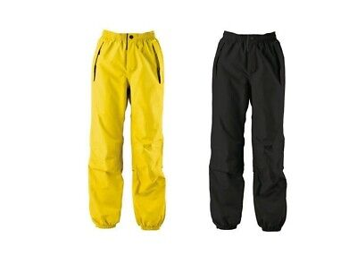Diadora Utility RING Water Proof Work Pants/Trousers, Black & Yellow