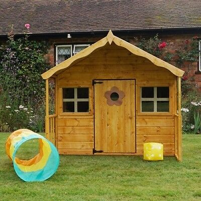 Childrens Playhouse Garden Play Kids Activity Small House Wooden Shed Outdoor UK