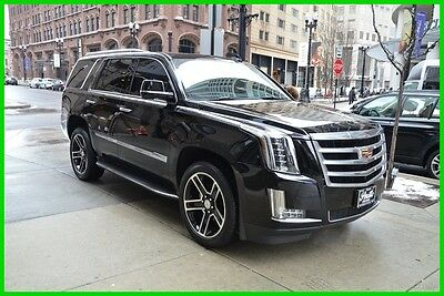 2015 Cadillac Escalade Luxury, low miles rudy@7734073227 2015 Luxury Used 6.2L V8 16V Automatic 4WD SUV Moonroof Bose Premium OnStar