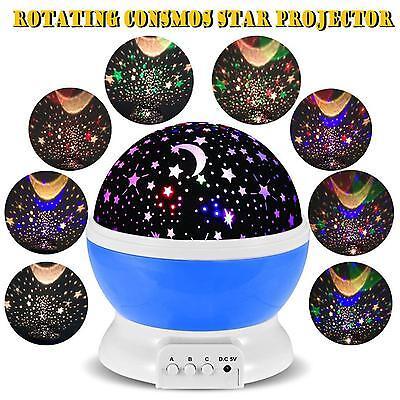 Sky Light Rotating Projection Dreaming Lamp Projector Disco for Baby Kids