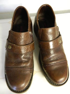 Red Tape Mens Real  Leather Slip On Shoes Formal Casual size UK 7