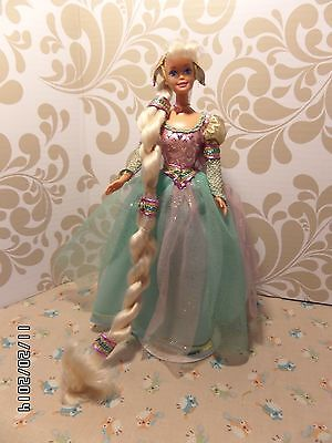 """Barbie """"Rapunzel"""" Doll - 1st in the Children's Collector Series - 1994 - #13016"""