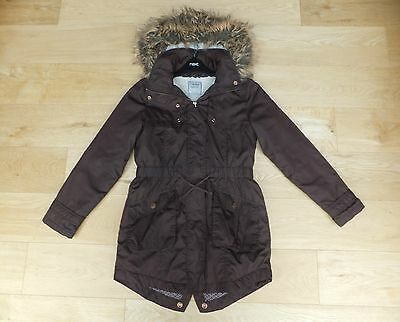 NEXT *** GIRLS Fabulous Brown WINTER PARKER COAT   AGE 11 YEARS