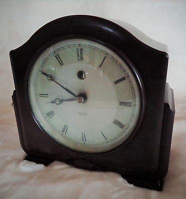 Art Deco Bakelite Clock - Smiths Sectric Autocal Mantle Clock • £19.99