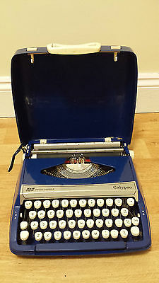 Vintage Smith Corona Calypso Typewriter with Case, Used