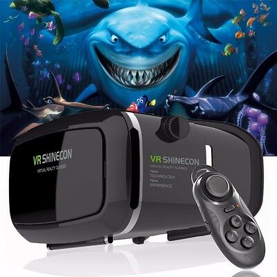 VR Shinecon 3D GLASS for iPhone + FREE BLUETOOTH GAMEPAD + FAST DELIVERY