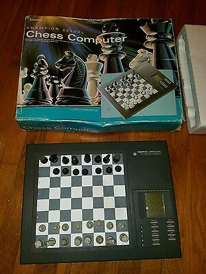 Champion 2250XL Electronic Chess Computer Game by Radio Shack