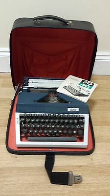 Vintage Erika 3040 Typewriter with Case, Used