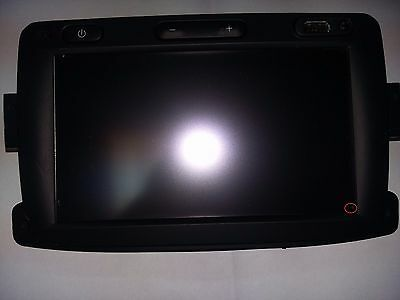Renault Dacia Lg  Media Nav Complete Front With Display Touch Panel Used Tested
