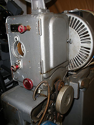WESTREX 35mm FILM PROJECTOR WITH GEC- ELLIOT LAMP HOUSE