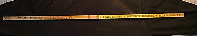 Caterpillar Tractor Co Vintage Expandable Yard Stick