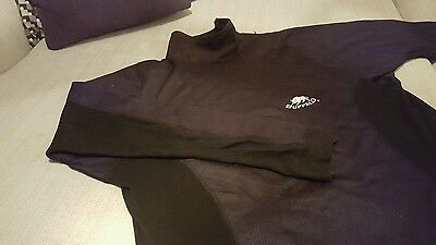 BUFFALO Motorcycle Under Top ( Size XL) Wind proof, thermal base layer.