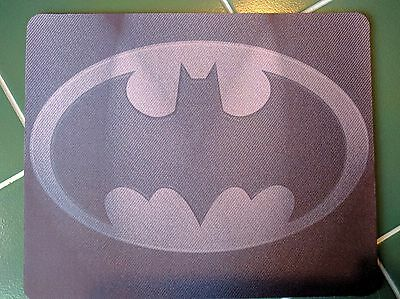 BATMAN LOGO Dark ! DC Comics !! Anti slip COMPUTER MOUSE PAD 9 X 7inch