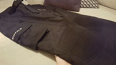 NEW Buffalo CE Armoured Waterproof Motorcycle Trousers Winter Pants Size LARGE