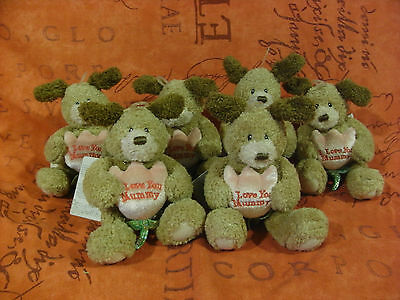 Job Lot Of 7 Gund Mothers Day Bears