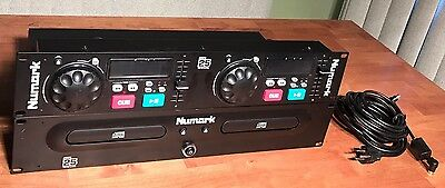 Numark CDN25 Professional CD Player w/ Controller, Cords, and Owners Manual