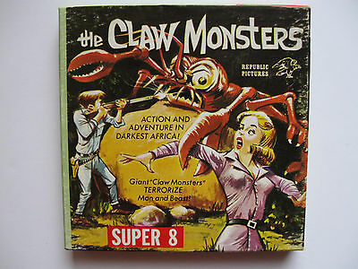 "Super 8 Film ""The Claw Monsters "" s/w ca.60m Republic Pictures/Ken Films"