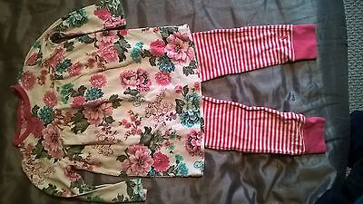 Girls Joules Two Piece Top Leggings 2-3 Years Winter