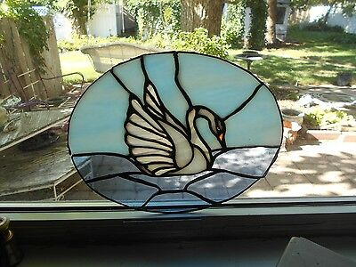 Stained Glass Window Panel Suncatcher   Art