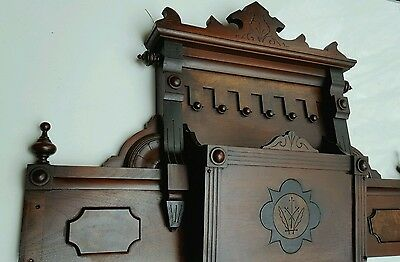 Antique Architectural Header Pediment Accent Piece