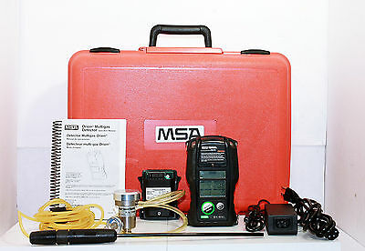 MSA Orion 10048299 Test System Portable Handheld Multi-Gas Detector, Charger