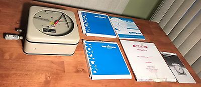 """Dickson PRPR8 Pressure Chart Recorder 8"""" W/ Extra Charts"""