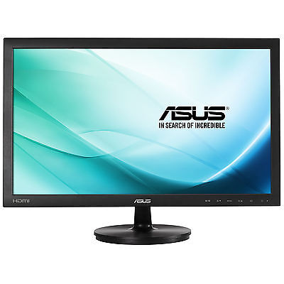 "Asus VS247HV 23.6"" LED LCD Computer Monitor 5MS Full HD 1080P 16:9 HDMI DVI VGA"