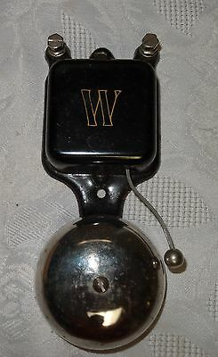 659 IRON WIZARD Bell House Indoors Kitchen Doorbell Door - Pat'd June 24, 1902