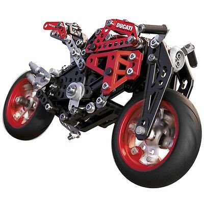 Meccano Ducati Monster Motorcycle 1200 S Kids Construction Motorbike Toy 6027038
