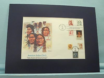 Honoring American Indian Leaders & First day Cover of the Sitting Bull stamp