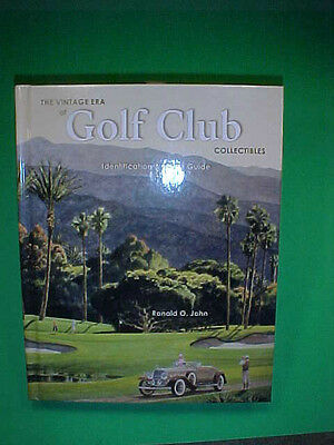 BOOK-R Johns Golf Club Collectibles-Author Signed