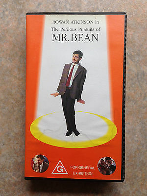 PAL VHS Comedy: The Perilous Pursuits of Mr. Bean with Rowan Atkinson