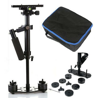 S60 Handheld Stabilizer SteadyCam Pro w/bag for Camera Camcorder Video DSLR