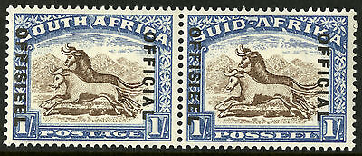 South Africa  1935-50  Scott # O 33  Mint Very Lightly Hinged