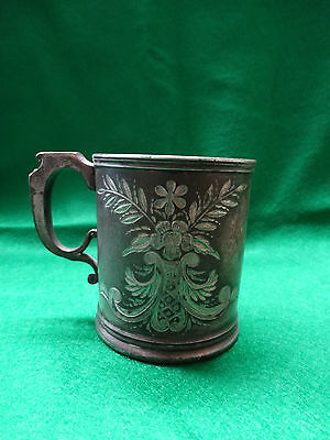 Silver Plate Childs Cup by Meriden B Company