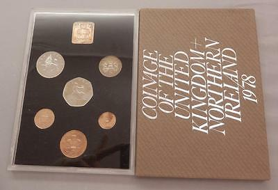 Great Britain 1978 6 Coin Proof Set United Kingdom + Northern Ireland UK E709E