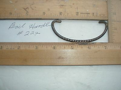 Antique Brass Drawer Pull Bail Handle Only #222  Parts Salvage