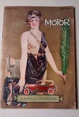 1923 Motor Annual Number 'That Man Durant'