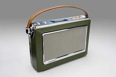 Goodmans 1960's Vintage Style Digital & FM Radio in Green DAB+ OXFORDGRN