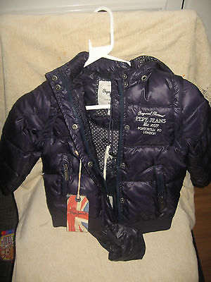 Pepe Jeans London Denise Girls Jacket Thames 4 years