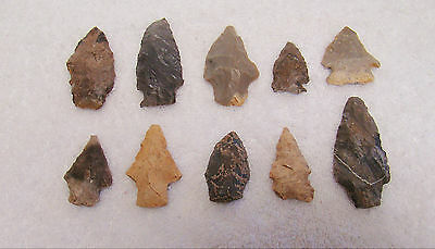 Tennessee, White Co., Cabnyfork Creek 10 Stone Points