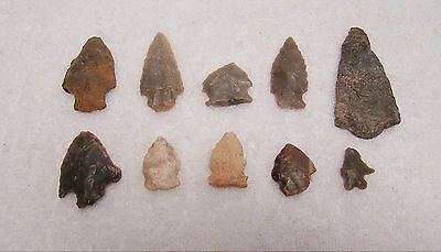 Tennessee, White Co., Cannyfork Creek 10 Stone Points