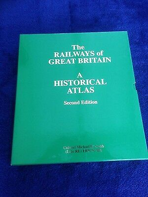 The Railways of Great Britain: a Historical Atlas by Colonel M. H. Cobb...