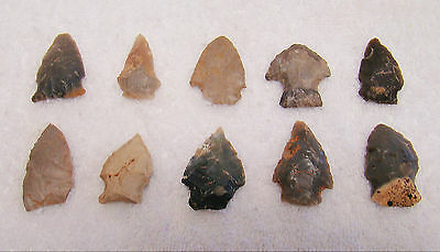 Tennessee, White Co., Cannyfork Creek 10 Stone Points • CAD $38.26